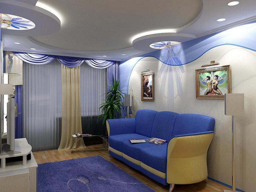 Дизайн комнаты 16 кв.метров