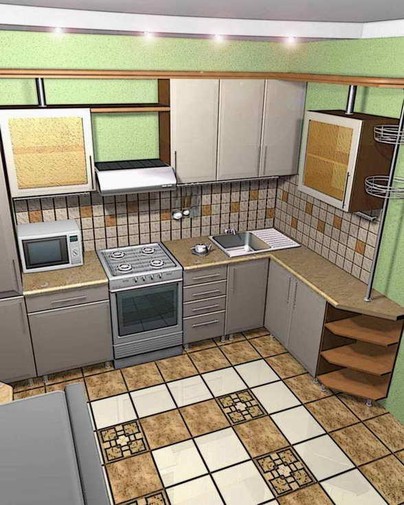 Бахман кухня 2 комнатной квартиры…