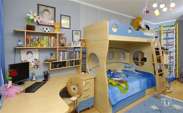 Как оборудовать детскую комнату своими руками 23